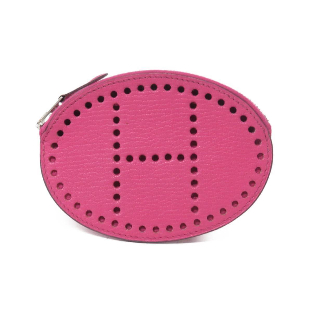 エルメスおんピンクのコインケース