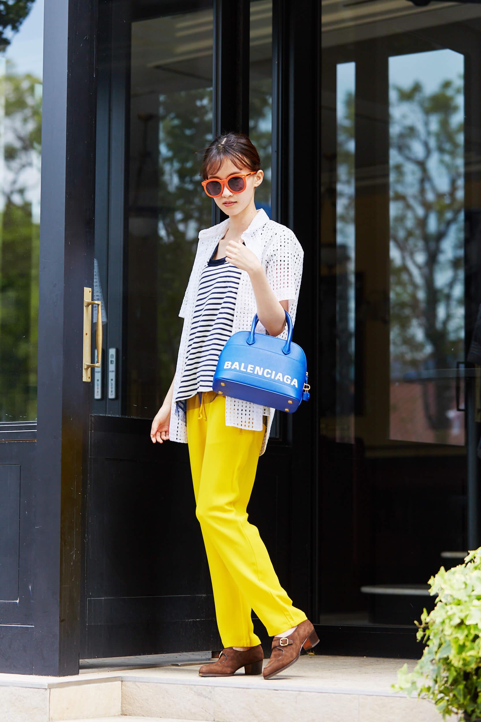 夏 ファッション カラー