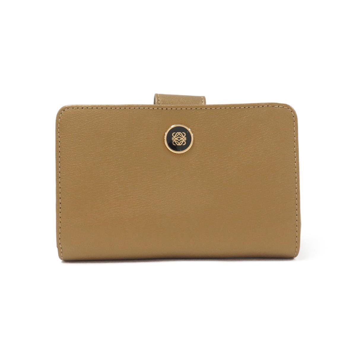 ベージュのロエベの財布