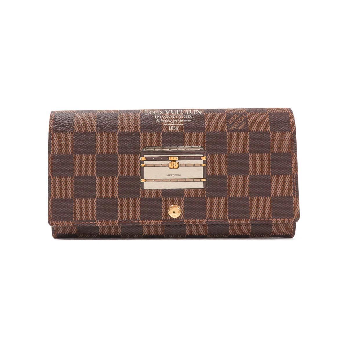 ルイヴィトンのダミエの長財布