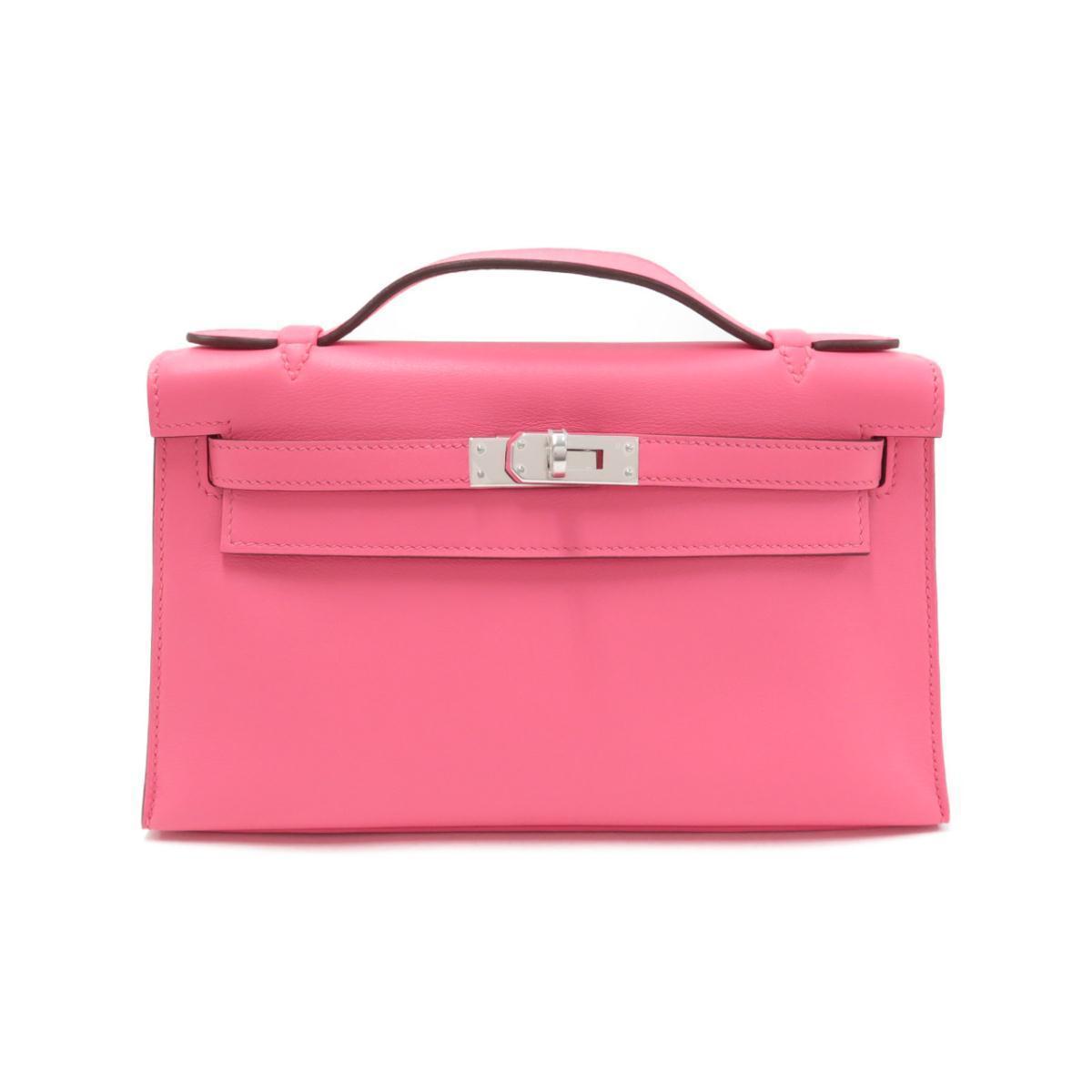 エルメスのピンクのバッグ