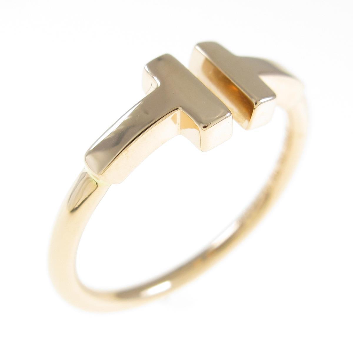 ゴールドのティファニーのリング