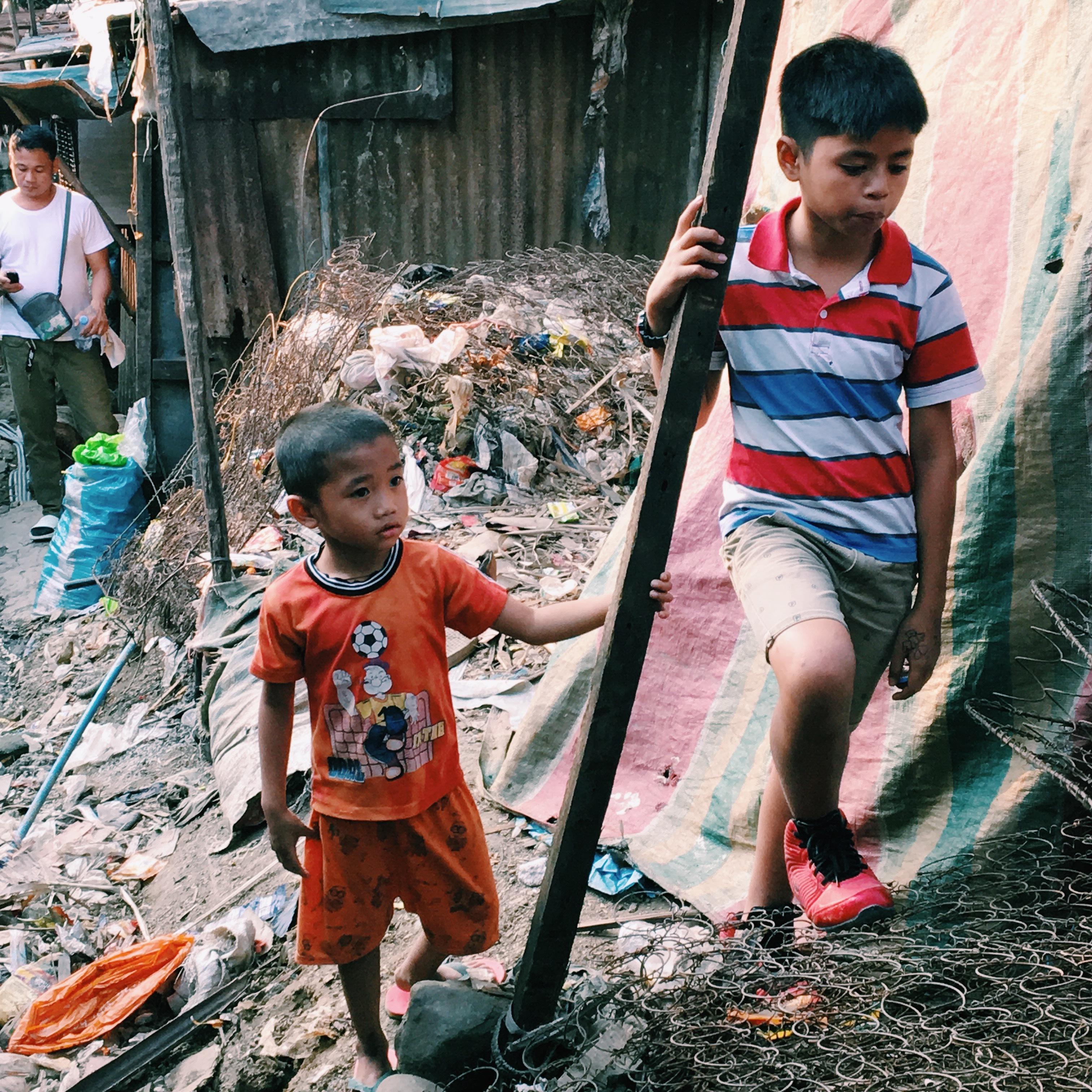 フィリピンのパヤタスの子どもたち