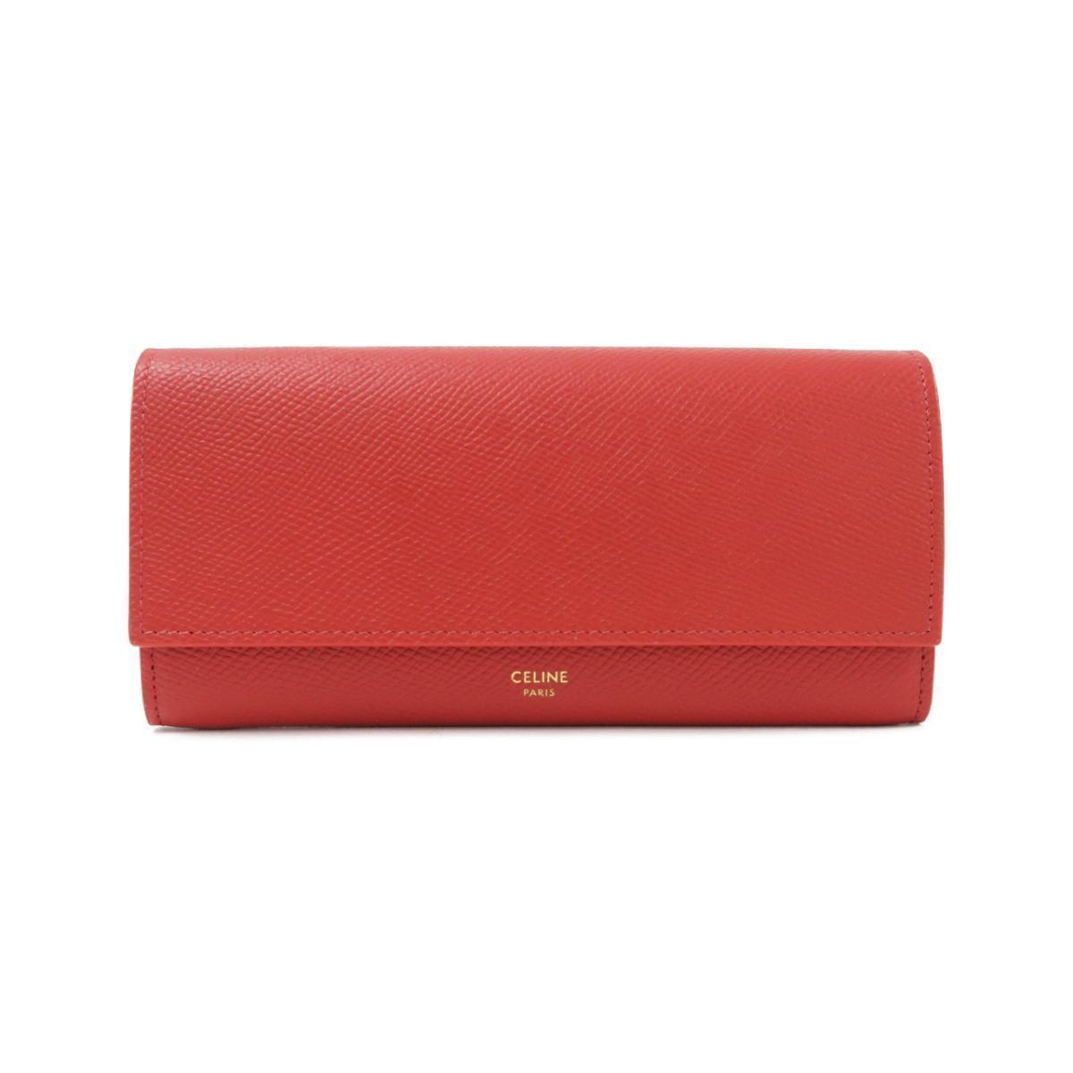 真っ赤なセリーヌの長財布