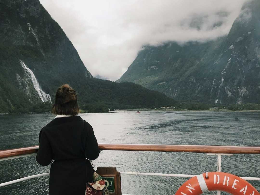 Photo:船旅での一枚