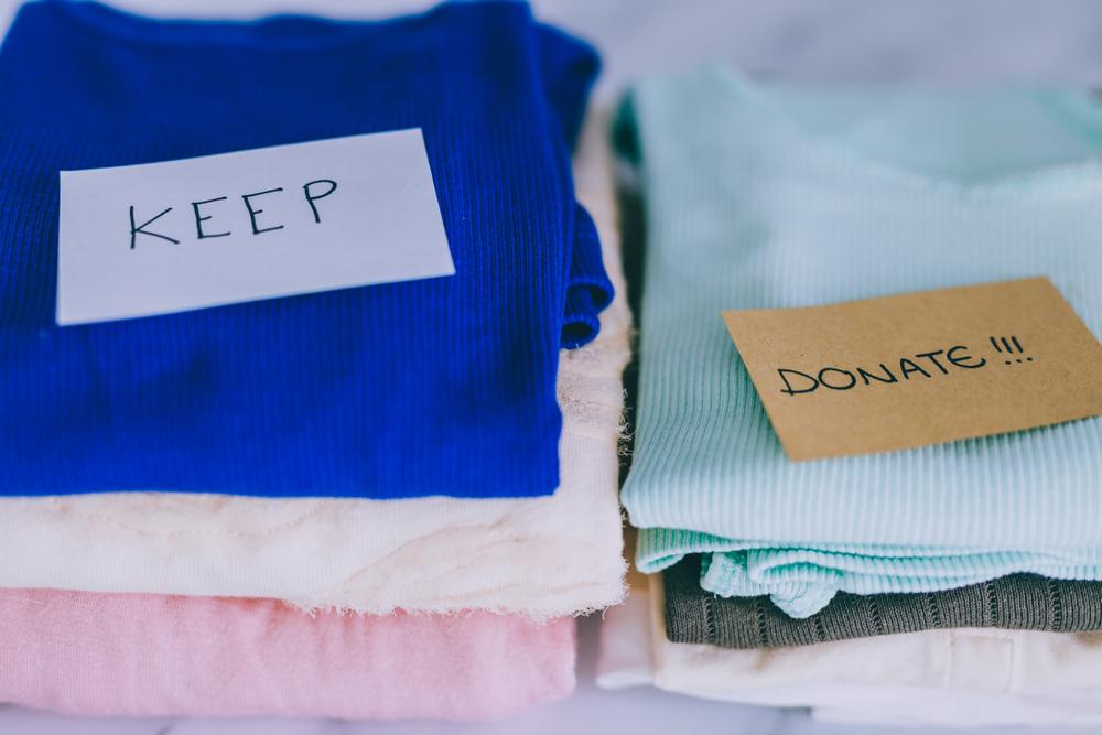 衣料品の行き先の決定