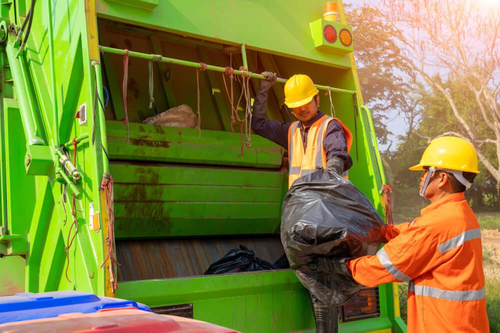 ゴミを回収する業者