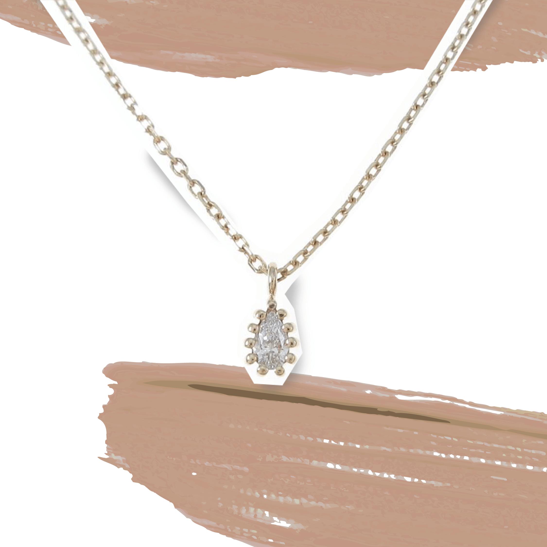 ココシュニックのダイヤモンドネックレス