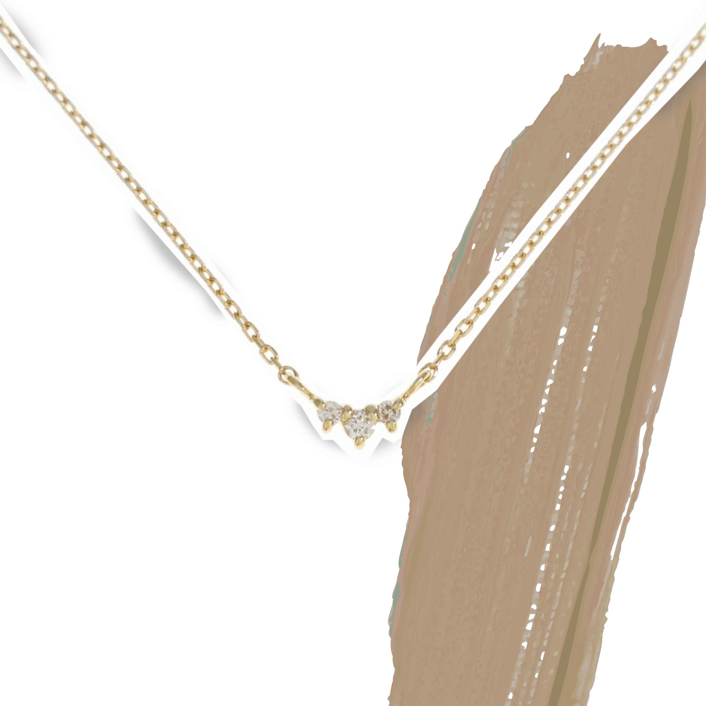 エテのダイヤモンドネックレス