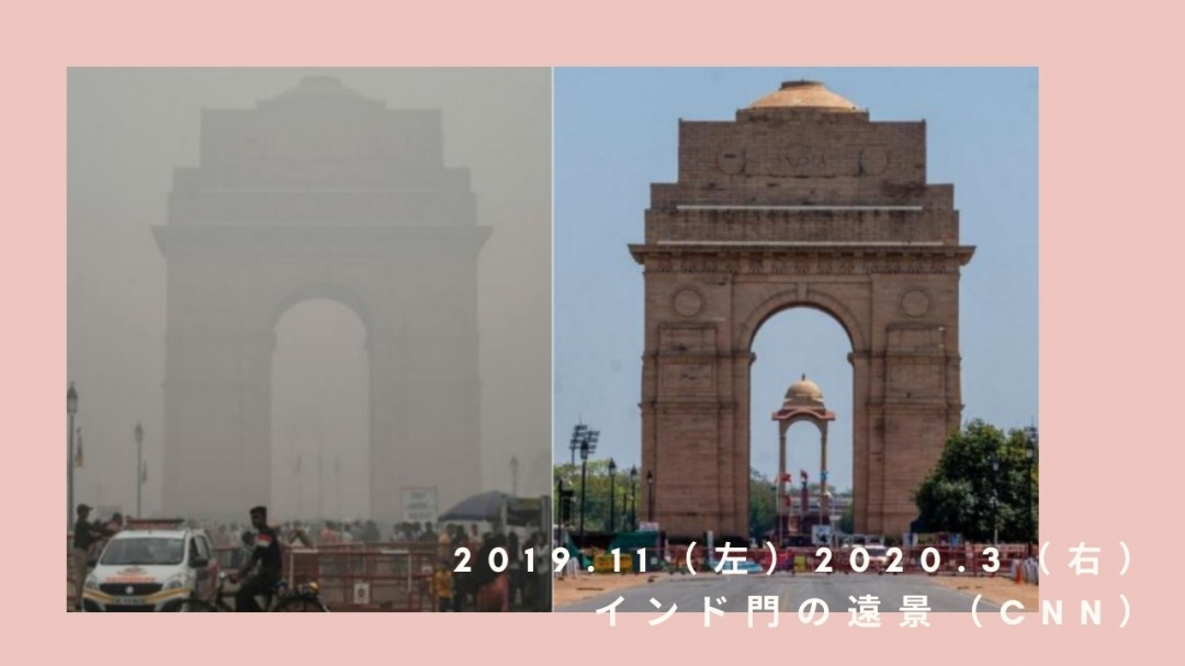 インドの大気の変化