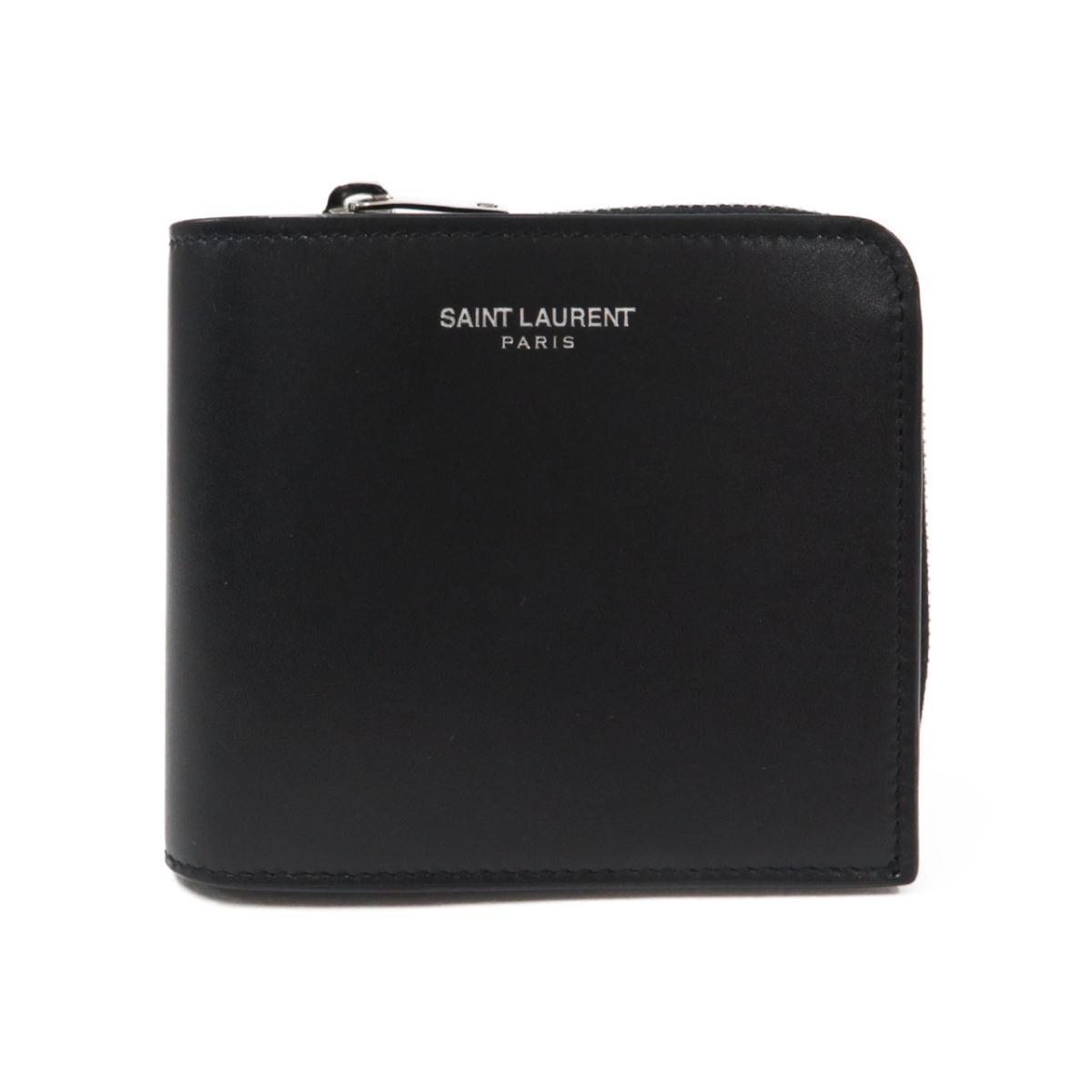 サンローランパリの黒の財布