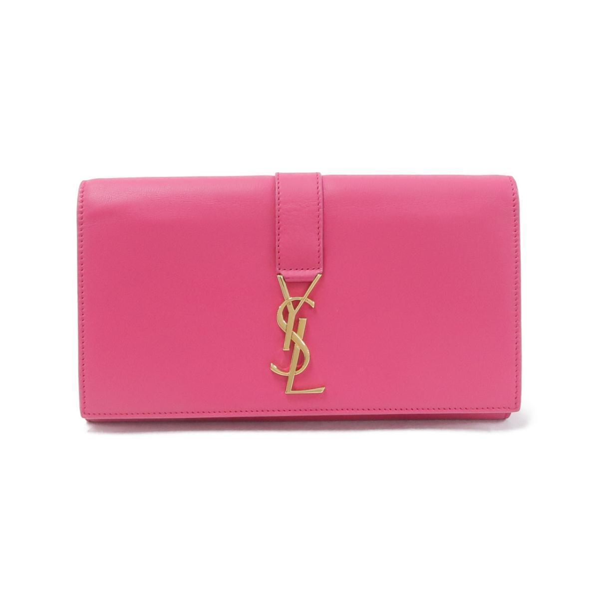 サンローランのピンクの長財布