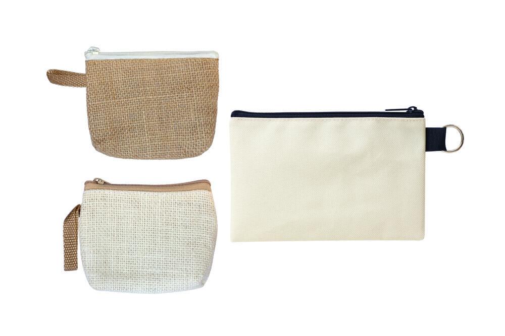 布製の財布