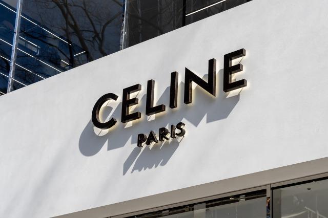 セリーヌの店舗の外壁
