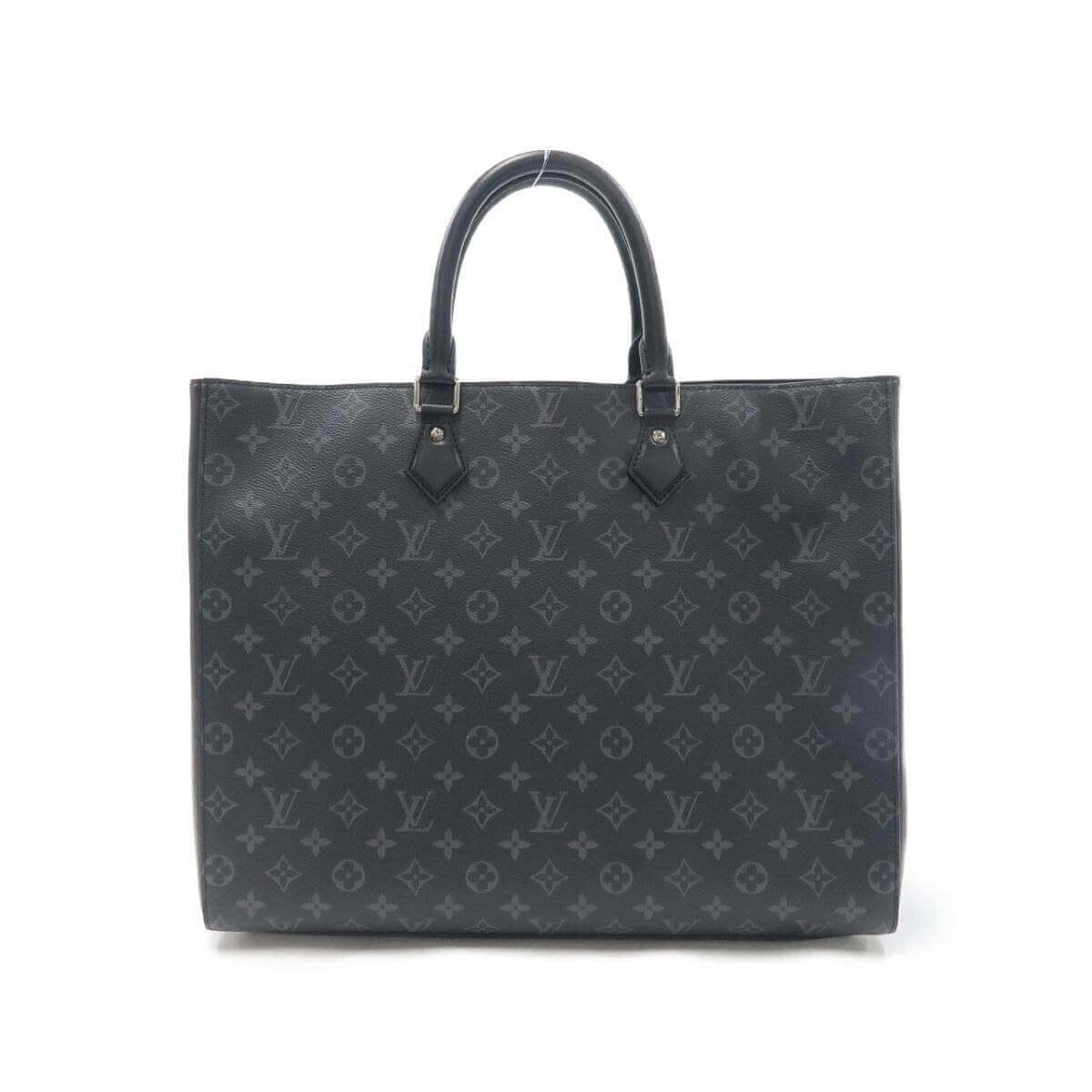 ルイヴィトンの黒のビジネスバッグ