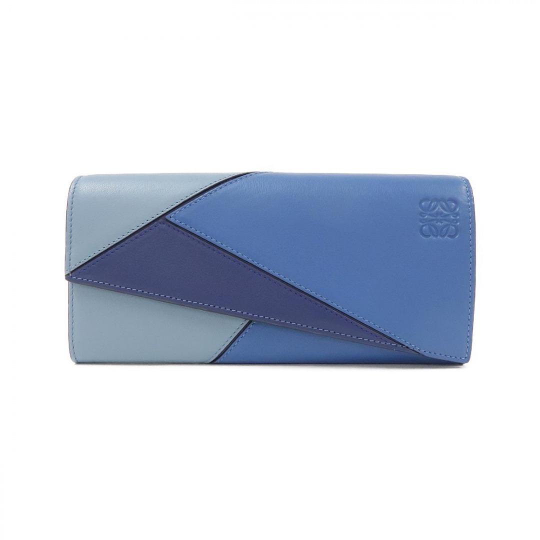 ロエベのパズルデザインの長財布