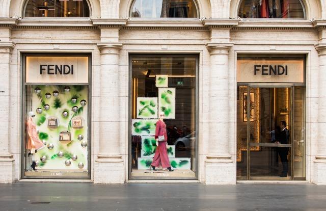 フェンディの店舗