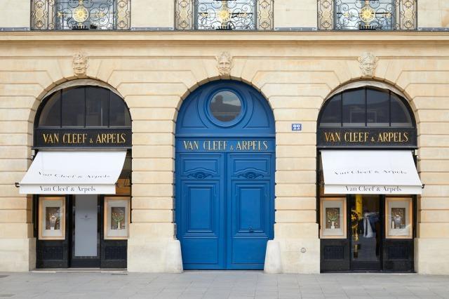 ヴァンクリーフ&アーペルの店舗