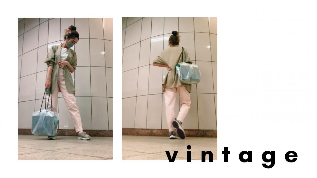 ヴィンテージのオーバーサイズジャケット