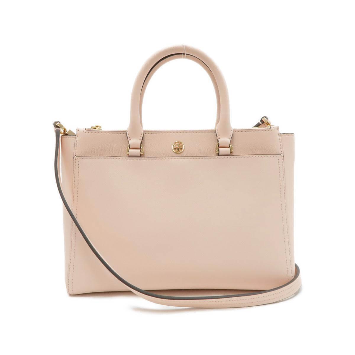 ピンクベージュのバッグ