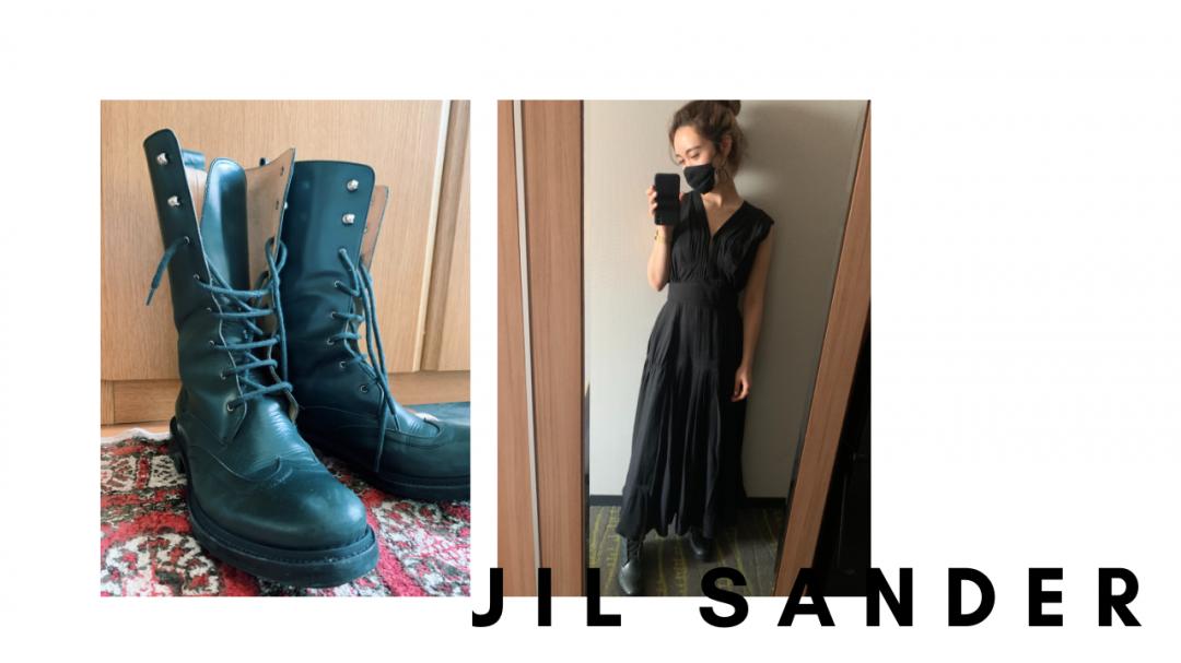 JILSANDERのカラーブーツ