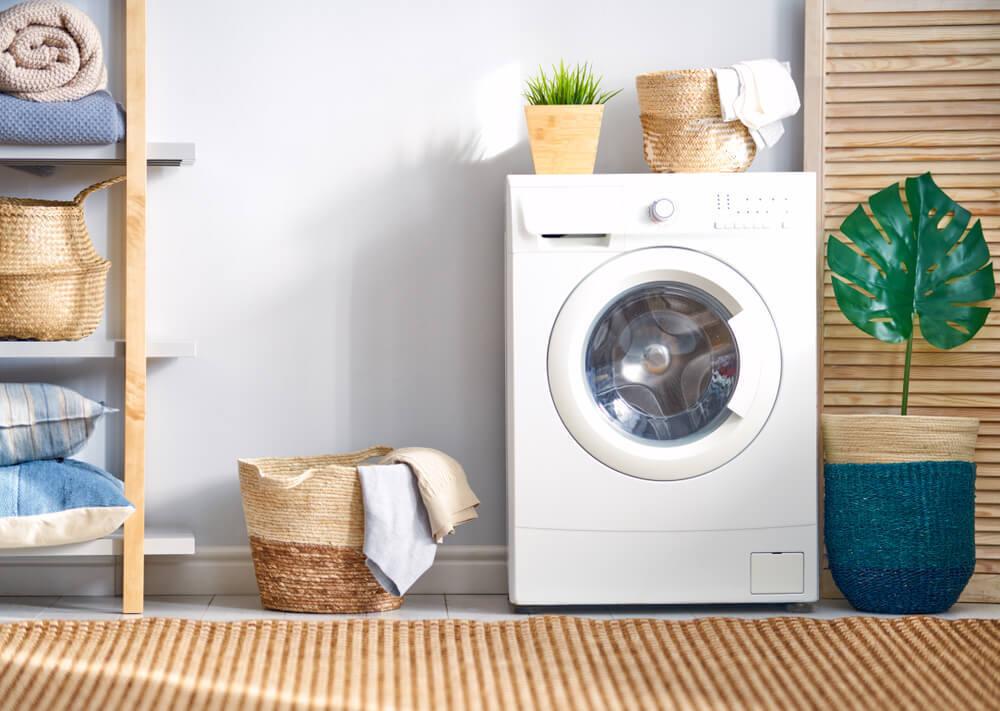 衣類と洗濯機