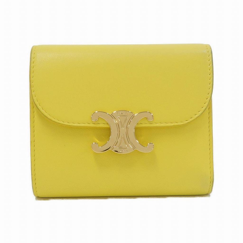 セリーヌのイエローの財布