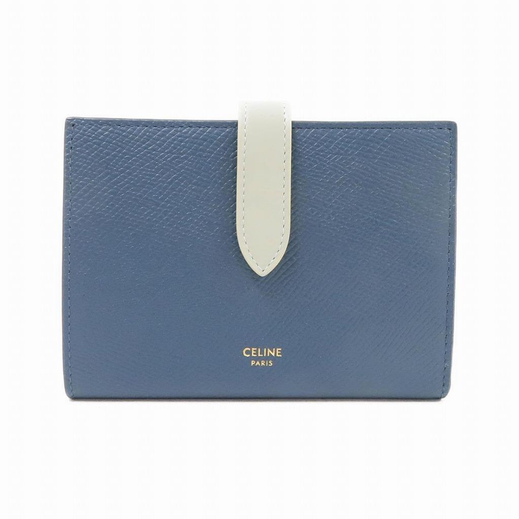 セリーヌのバイカラーの財布