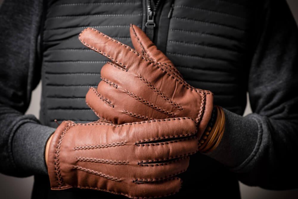 ボリュームのある手袋