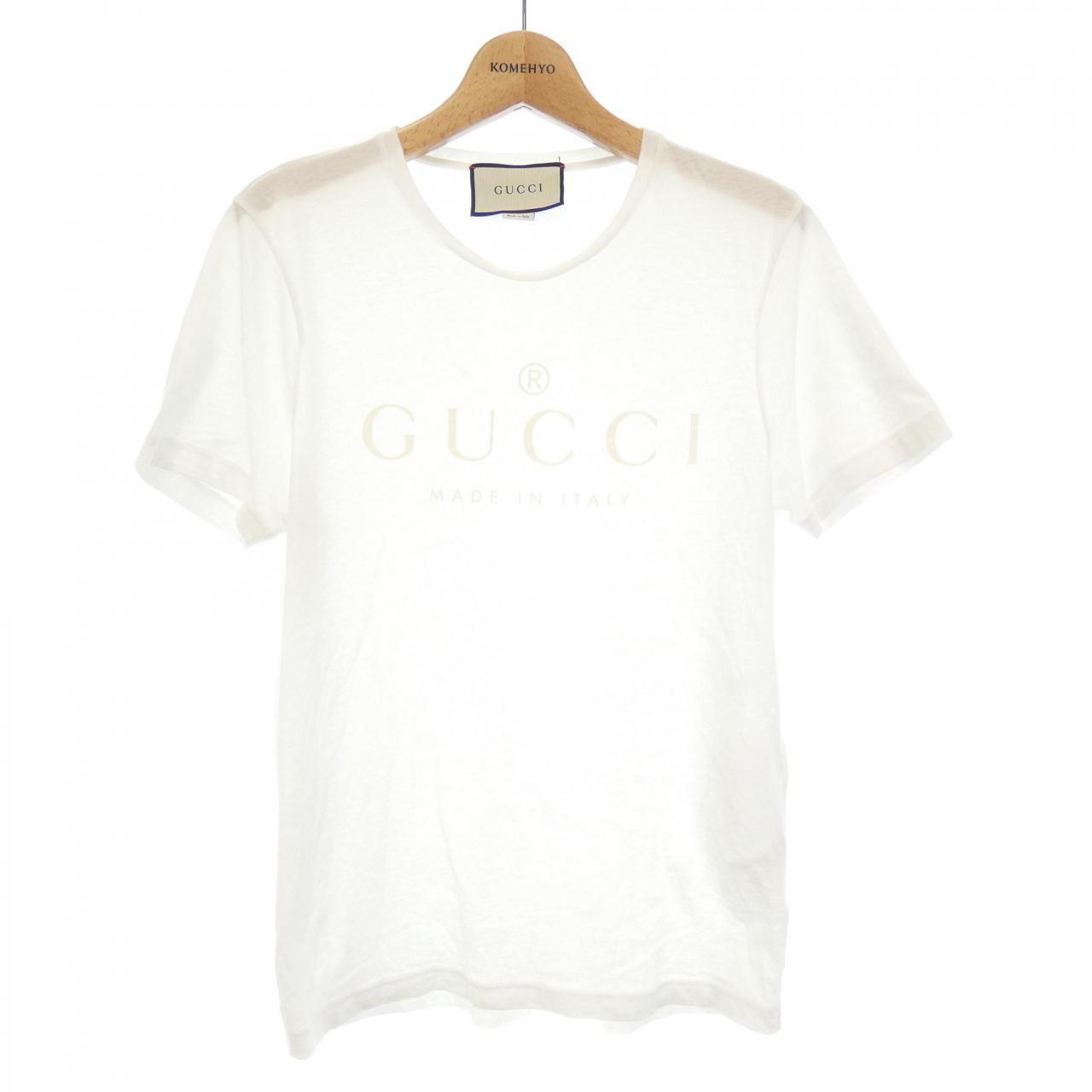 グッチのロゴTシャツ