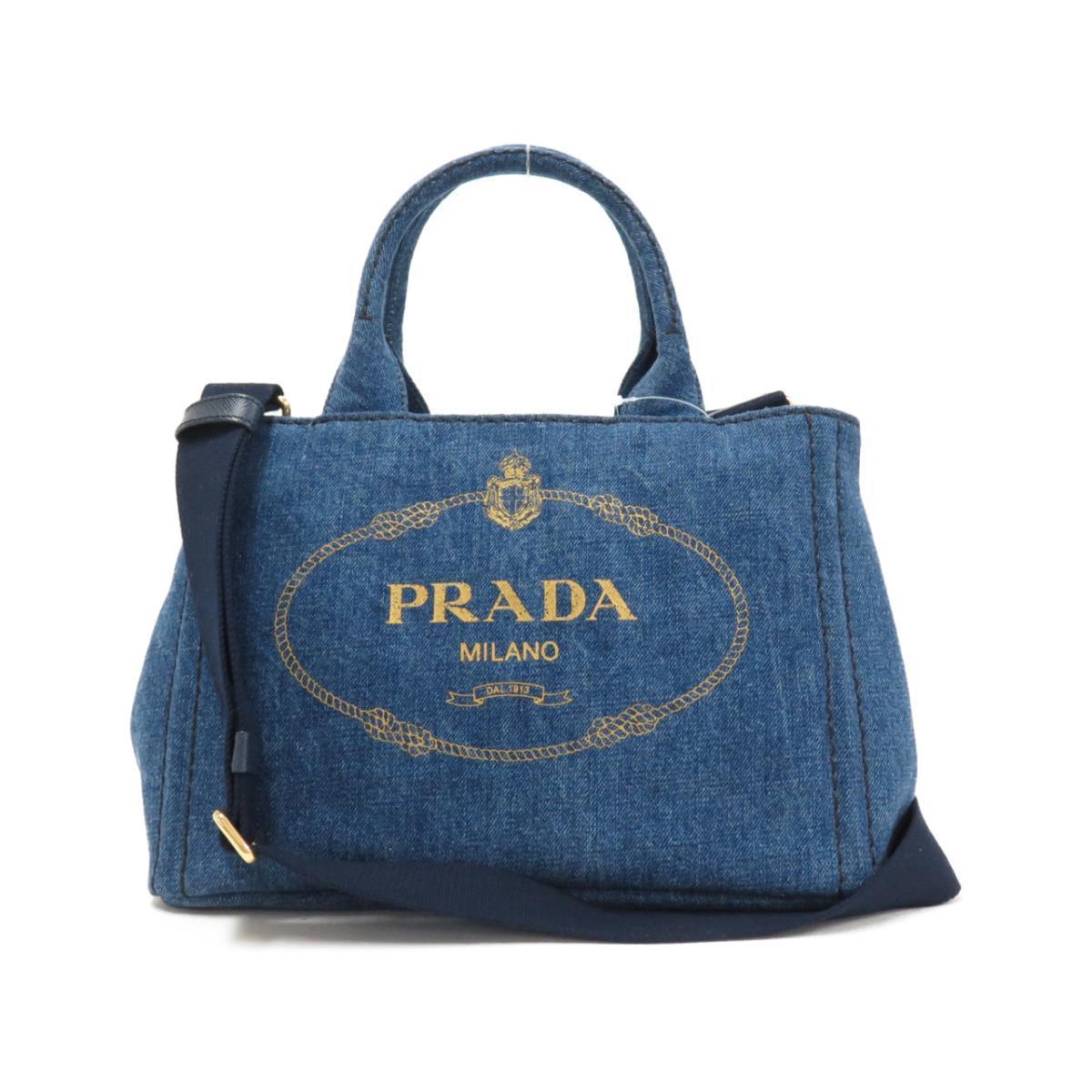プラダのデニムバッグ