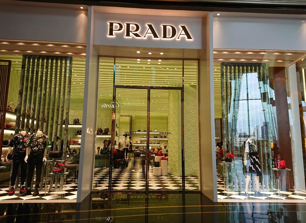 プラダの店舗外観