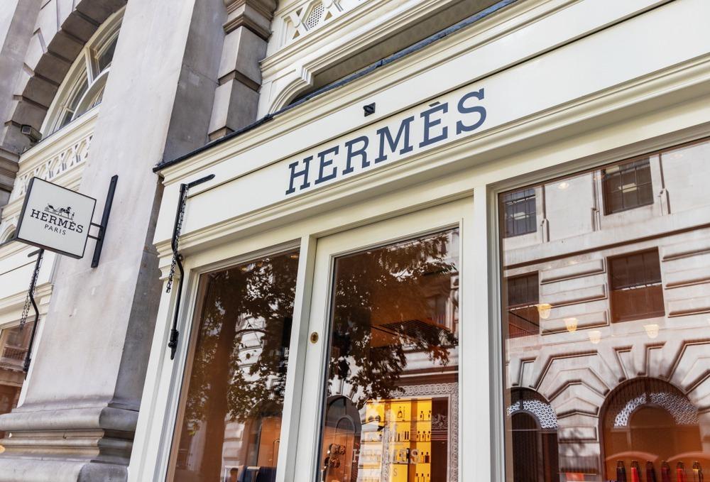 エルメスの店舗外観
