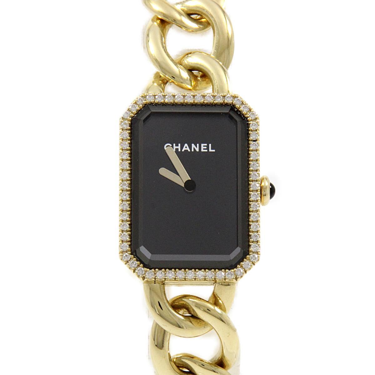 ダイヤを配したシャネルのプルミエール チェーン