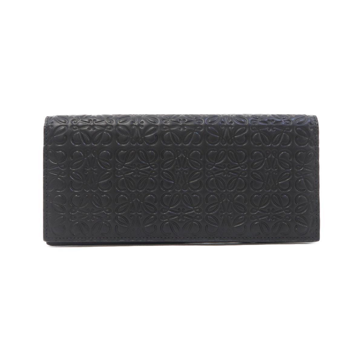 ロエベの長財布ブラック