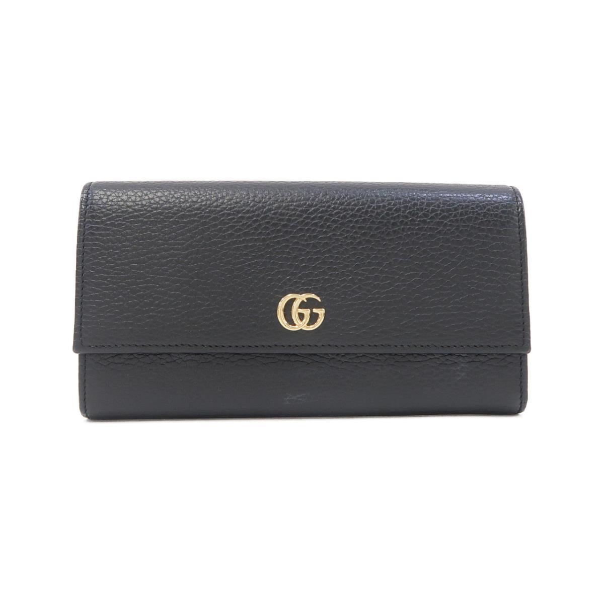 グッチのレザー財布