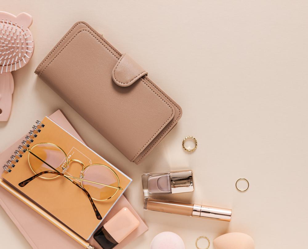 レディース財布と手帳