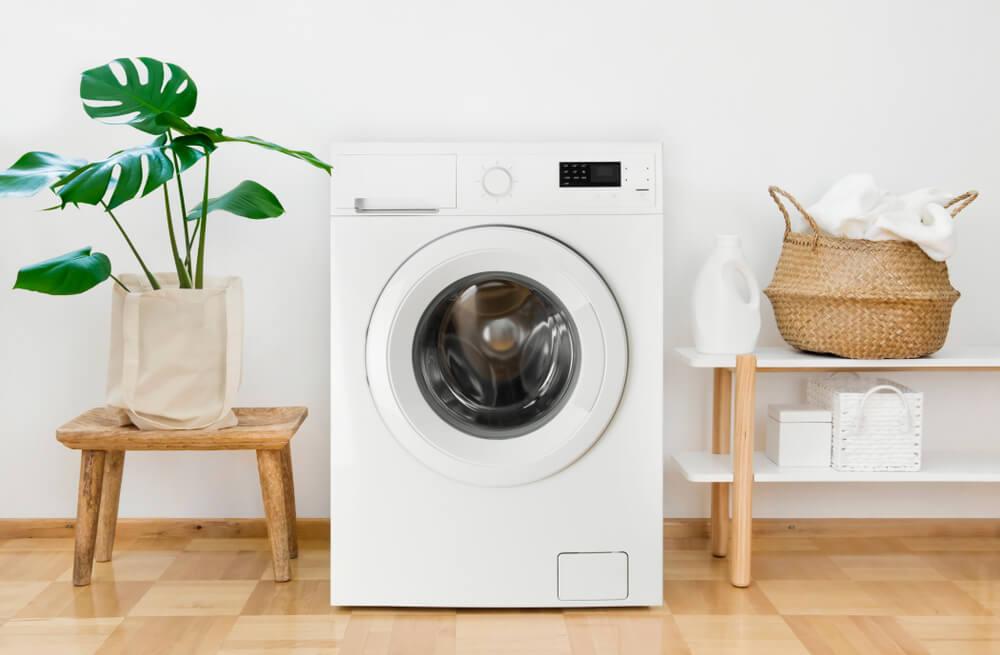 洗濯機が置かれた部屋