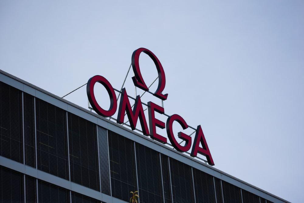 オメガ社のロゴ